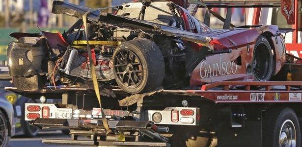 ENDURANCE: 2014 Rolex 24 Crash Video