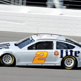 Rusty Wallace Tests Daytona ( NASCAR CUP SERIES )