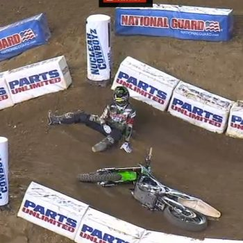 Chad Reed Crash Video - San Diego ( Supercross )