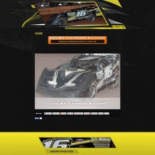 Colby Cannon Racing - Walters Web Design ( Dirt Late Model Driver Website )