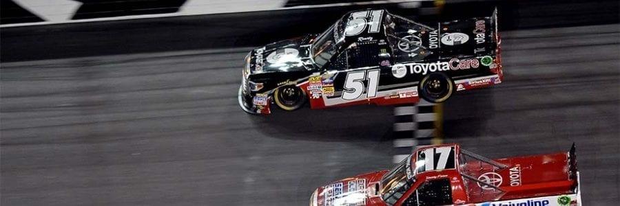 NASCAR TRUCK: Daytona Truck Results