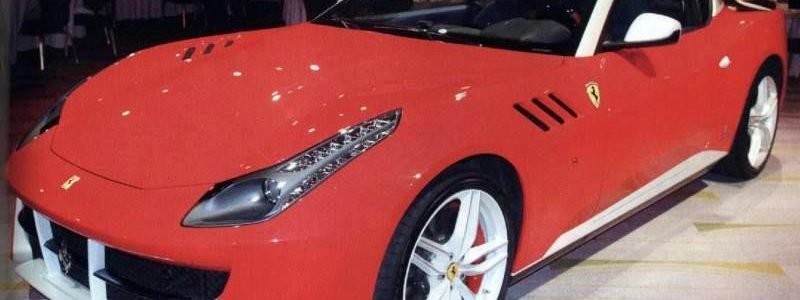 CARS: Ferrari SP FFX Photos Leak