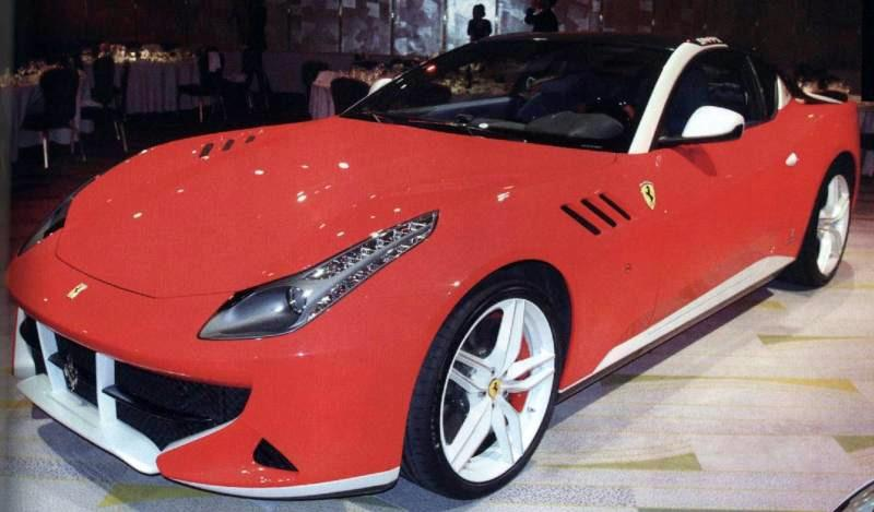 Ferrari SP FFX Photos Leak ( CARS )