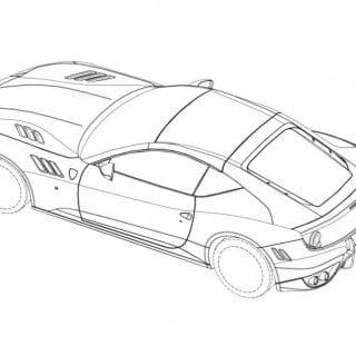 Ferrari SP FFX Sketch ( CARS )
