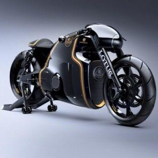 Lotus C-01 Motorcycle Front ( BIKES )