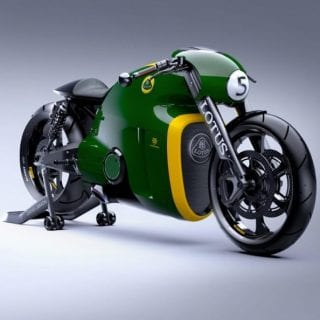 Lotus C-01 Motorcycle Green ( BIKES )