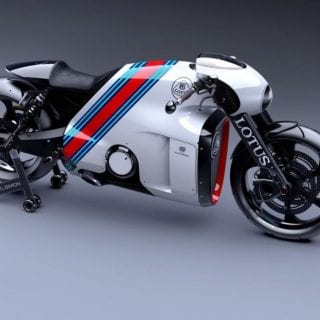 Lotus C-01 Motorcycle White ( BIKES )
