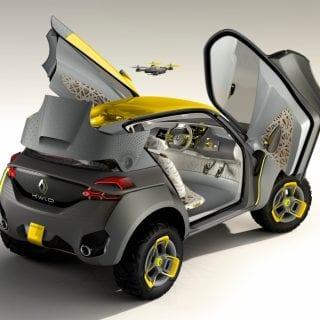 Renault Kwid Concept Car Exterior ( CARS )