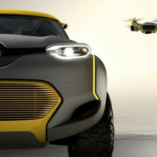 Renault Kwid Concept Car Headlights ( CARS )