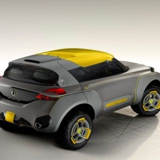 Renault Kwid Concept Car Rear ( CARS )