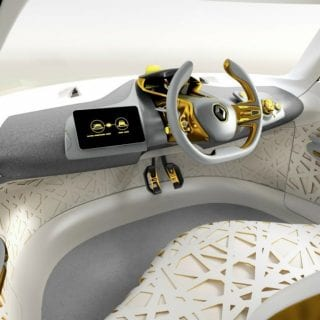 Renault Kwid Concept Car Steering Wheel ( CARS )