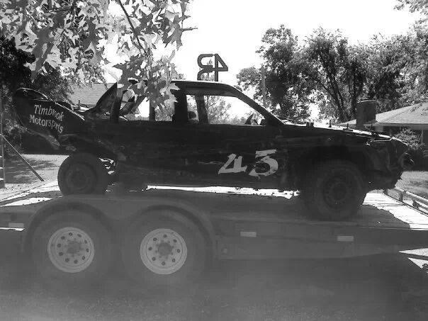 Timbrook Motorsports Demolition Derby Website