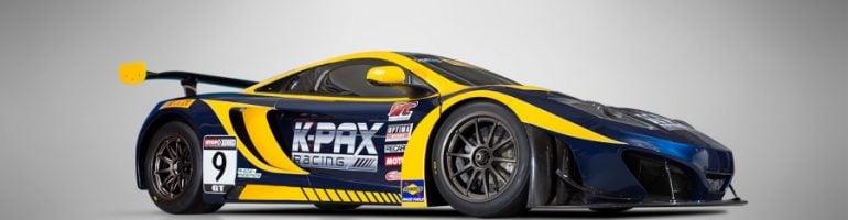 TOURING: K-PAX Racing Launches McLAREN 12C GT3