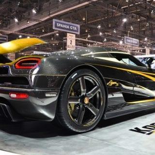 Manhattan Motorcars Koenigsegg To US Agera S Black ( Supercars )