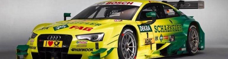 DTM: Mike Rockenfeller Audi RS 5