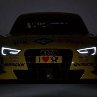 Mike Rockenfeller Audi RS 5 DTM Photos Front