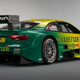 Mike Rockenfeller Audi RS 5 DTM Photos Rear