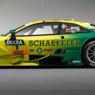 Mike Rockenfeller Audi RS 5 DTM Photos Side