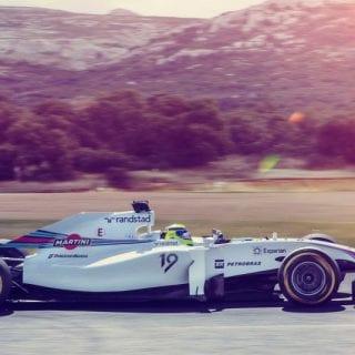 Williams Martini Racing Car ( F1 )