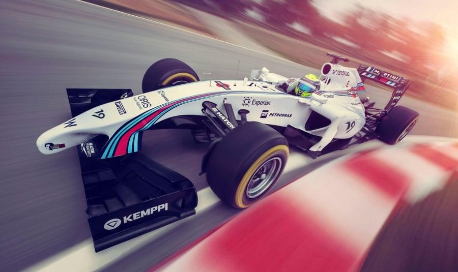 Williams Martini Racing Car Front ( F1 )