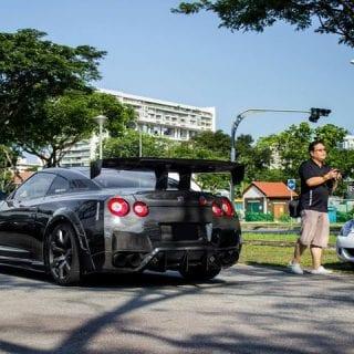 Black Chrome Nissan GT-R