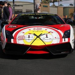 Clock Lamborghini Supercar Show Newport Beach ( CARS )