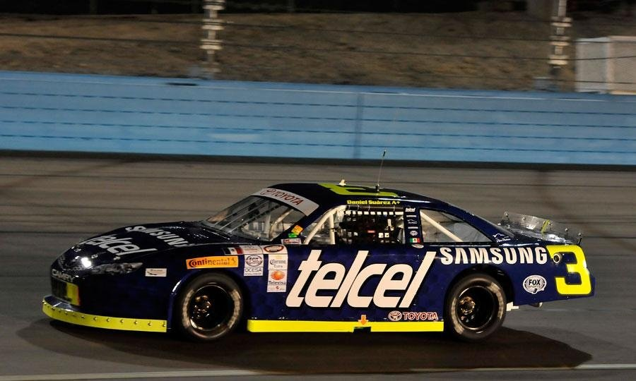 Daniel Suarez NASCAR Joe Gibbs Racing Telcel