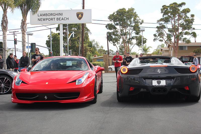 CARS Lamborghini Supercar Show Racing News - Newport lamborghini car show