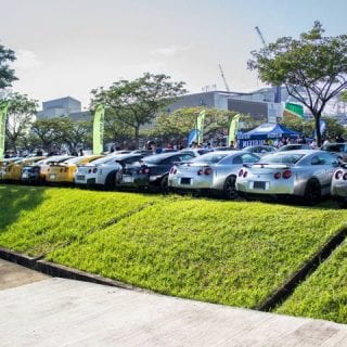 Group of Nissan GT-R