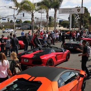 Lamborghini Supercar Show ( CARS )