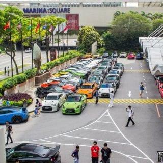 Nissan GT-R Parking Lot