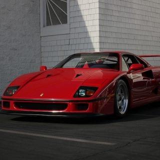Red Ferrari Supercar Show Newport Beach ( CARS )