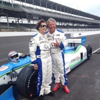 102 Year Old Woman Laps At Indianapolis Mario Andretti 2