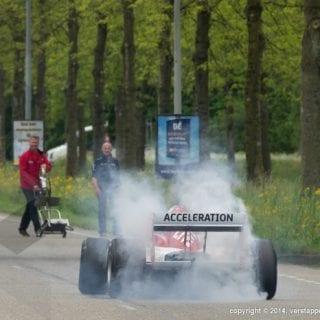 FA1 Car On Highway ( Jos Verstappen )