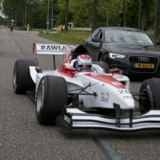 Formula 1 Car On Highway Photos ( Jos Verstappen )