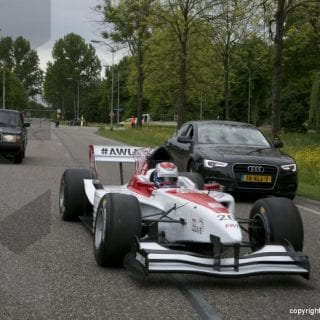 Formula1 Car On Highway ( Jos Verstappen )