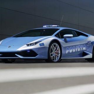 Lamborghini Police Car Huracn LP 610-4 Polizia Car