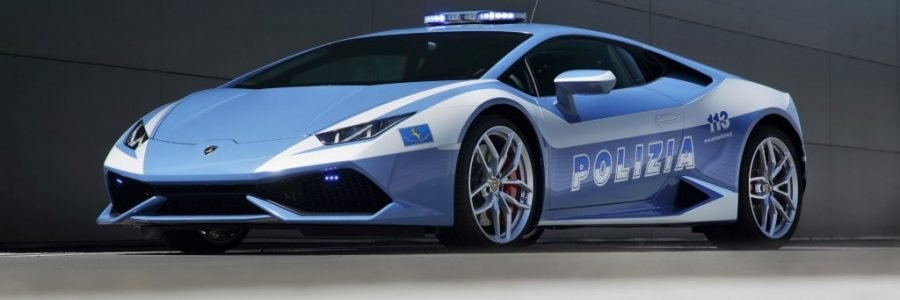 CARS: Lamborghini Police Car