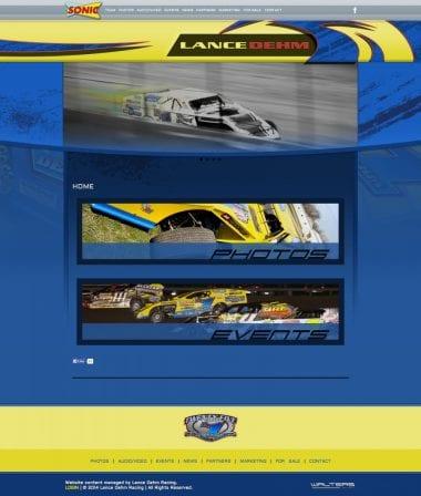 Lance Dehm Racing Dirt Modified Racing Website