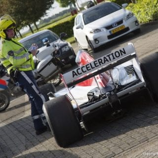 Police Give F1 Driver a Ticket ( Jos Verstappen )
