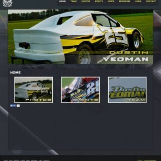 Outlaw Racing Driver Website