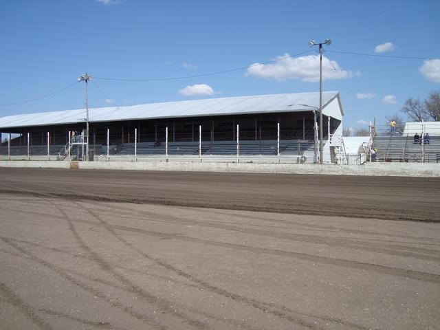 Rapid Speedway Seating Dirt Track Closed