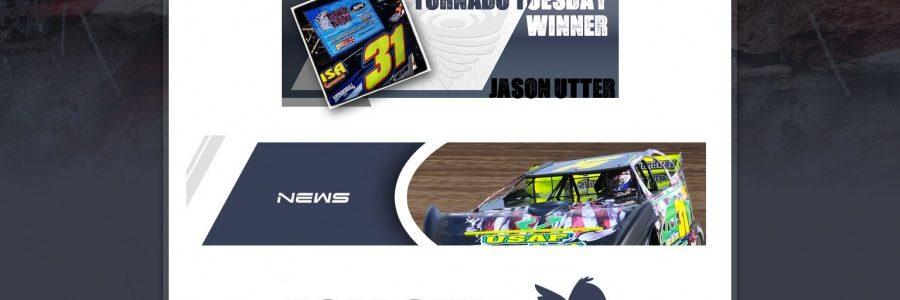 Utter Motorsports Dirt Late Model Web Design Launched