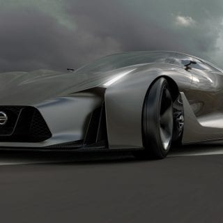 2020 Nissan GTR R36 Vision Gran Turismo Front