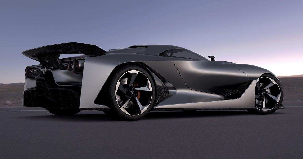 2020 Nissan GTR R36 Vision Gran Turismo Tailights