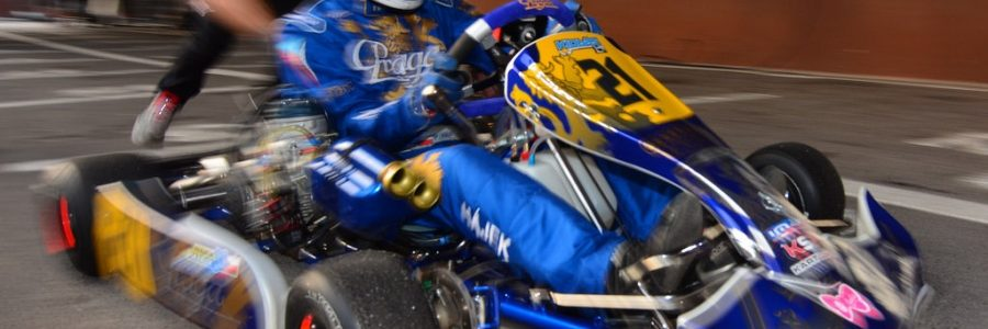 Andrick Zeen Joins Praga Karting Team