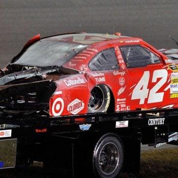 Dale Earnhardt Jr NASCAR Graveyard Juan Pablo Montoya Jet Dryer Car