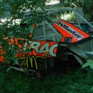 Dale Earnhardt Jr NASCAR Graveyard Photo
