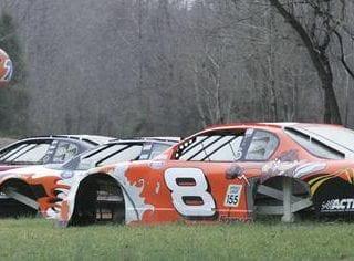 Dale Earnhardt Jr NASCAR Graveyard Photos