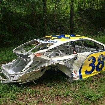 Dale Earnhardt Jr NASCAR RaceCar Graveyard